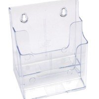 2 Tier brochure holder low back