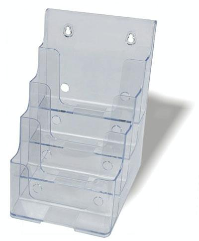 4 tier a5 brochure holder
