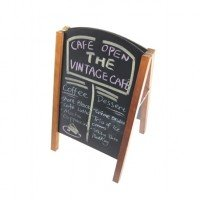 chalk sandwich sign board