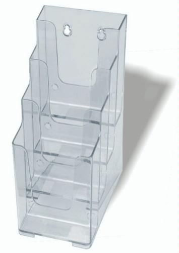 4 tier a4 brochure holder