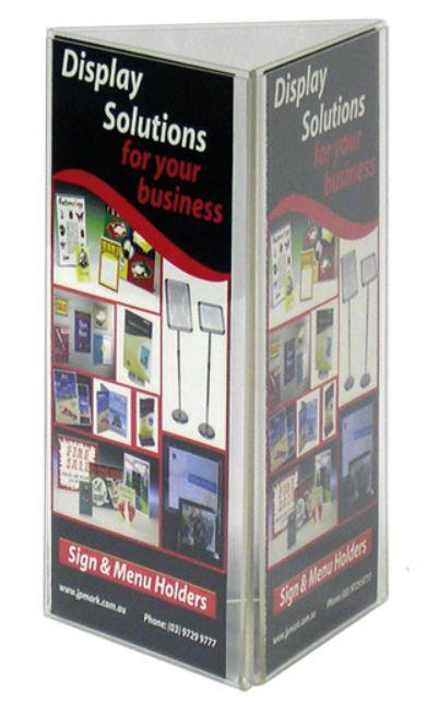 DL 3 sided menu holder